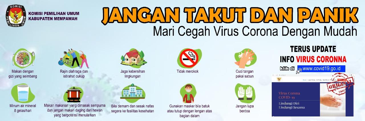 Cegah Covid-19 Dengan Menjaga kebersihan & Kesehatan