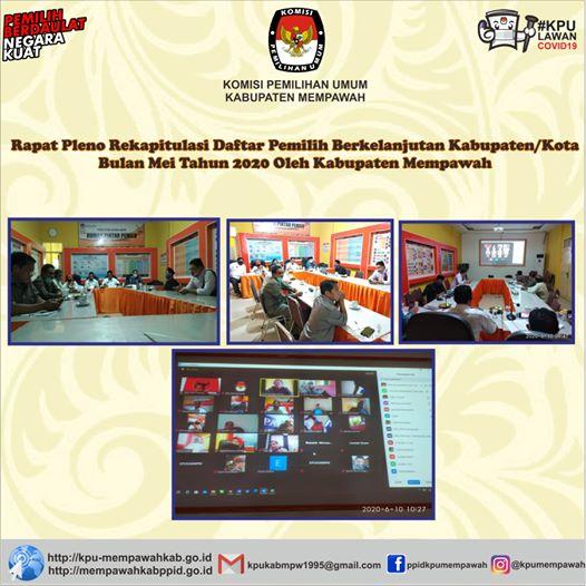 Rapat Pleno Penetapan DPB