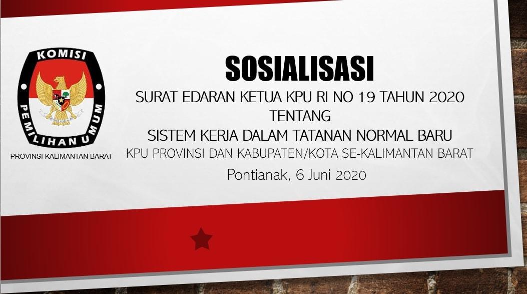 Sosialisasi KPU Provinsi Kalbar