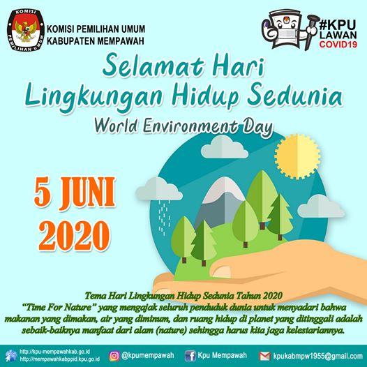 SELAMAT HARI LINGKUNGAN SE-DUNIA Selamat Hari Lingkungan Se-Dunia