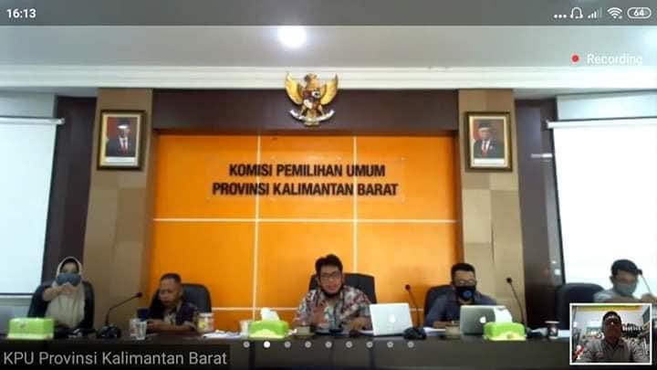 Rakor Dengan KPU Provinsi Kalimantan Barat