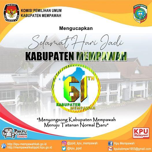 Hari Jadi Kabupaten Mempawah ke 61 Tahun