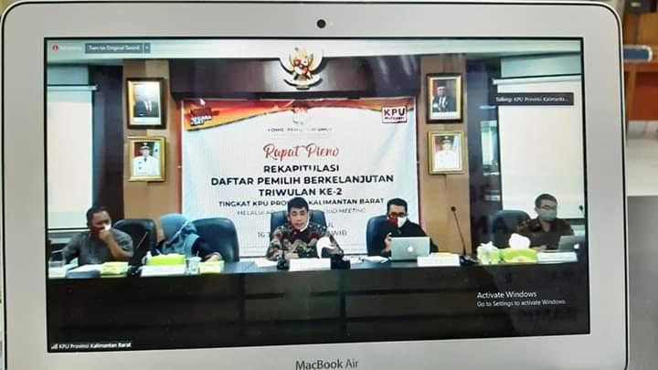 Provinsi Rapat Pleno DPB Triwulan ke 2 Tk. Provinsi